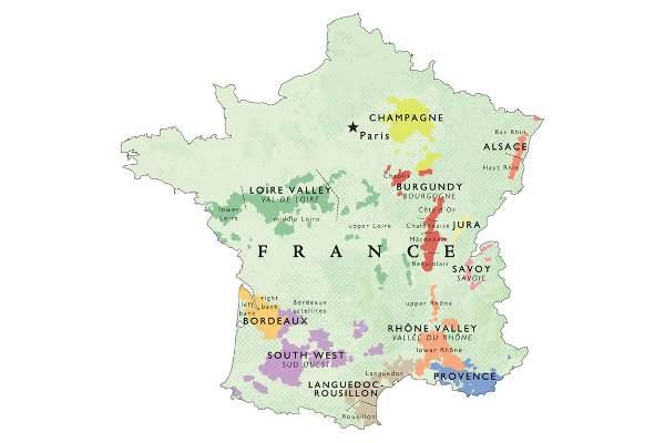 Francuska Vina Cine 34 Cjelokupne Svjetske Trgovine Vinom